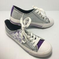 FOCO NCAA Women/'s Clemson Tigers Espadrille Canvas Slip On Shoe
