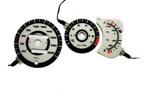 Volkswagen Polo 86c design 1 glow gauge plasma dials tachoscheibe glow shift ind