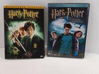 Lot Of 2 Harry Potter Dvds Prisoner Of Azkaban Chamber Of Secrets