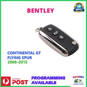 BENTLEY CONTINENTAL GT KEY REMOTE 2006 2007 2008 2009 2010 2011 2012 2013 2014