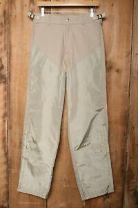 Vintage COLUMBIA Khaki Upland Brush Gaurd Hunting Outdoors Pants Men's Sz. 31x31