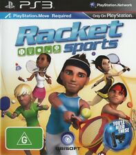 PS3 -- Racket Sports -- Playstation Move -- NUOVO