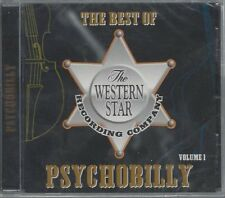 BEST OF WESTERN STAR PSYCHOBILLY VOL 1 -VARIOUS ARTISTS -(sealed cd) -PSYCHO CD2