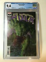 Immortal Hulk #1 CGC 9.4 NM Alex Ross Cover Al Ewing Joe Bennett Devil Hulk