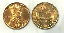1944 P Lincoln Wheat Cent  - 1 (ONE) Gem Red Uncirculated Coin