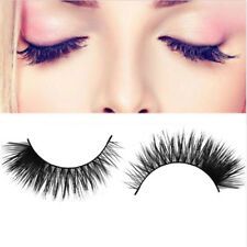 100 Real 3d Mink Makeup Cross False Eyelashes Eye Lashes Extension Handmade