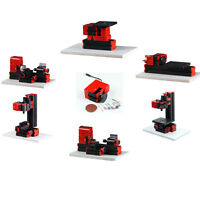 GEEG CNC Mini Classic Lathe Tool 6 in 1 Milling Machine Sawing Driller Grinder