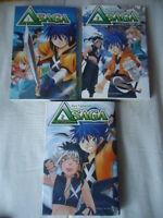 Lote Delta Saga, Tomos 1 2 3 Aya Tsutsumi Manga Completo Series Complete