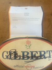 Rob Andrew Signed Autographed Rugby Union Ball + Certificate Memorabilia
