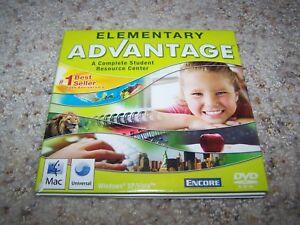 Encore Elementary School Advantage 2009 PC Windows XP/Vista MAC
