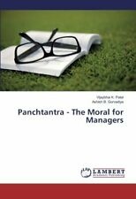 Panchtantra - The Moral for Managers, K. New 9783659825910 Fast Free Shipping,,
