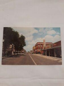 Vintage Postcard North Platte Nebraska Street Scene Grants Dept. Store Cars