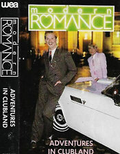 Modern Romance Adventures In Clubland CASSETTE ALBUM Electronic Synth-pop Disco