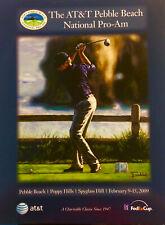 AT&T Pebble Beach National Pro-Am 2009 PGA Golf Program FREE U.S. SHIPPING