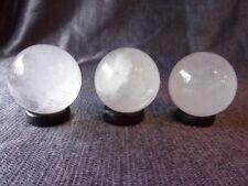 Stunning Small Clear Quartz Ball Sphere - 35mm