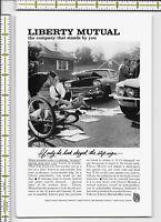 Liberty Mutual Insurance Company 1961 magazine print ad