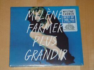 Mylene Farmer - Plus Grandir (Best Of 1986 - 1996) Blue Sleeve 2 cd