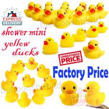 Mini Rubber Ducks Kids Baby Bath Water Bath time Play Toy High Quality Bulk UK