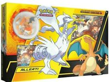 Pokemon Reshiram Charizard GX Alleati Collezione con Statuina Collection SEALED