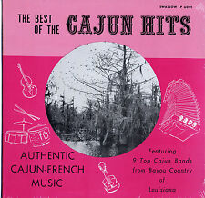 Various ‎Artists Best Of The Cajun Hits SEALED Swallow 6001 LP New/old stock