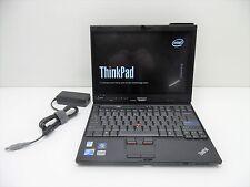 """12.5"""" Lenovo Thinkpad X201Tablet i5 1.06GHz 8GB RAM 250GB HDD Windows 10 AC Cam"""