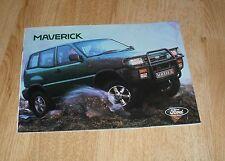 Ford Maverick Brochure 1993 - SWB LWB 2.4 2.7 TD