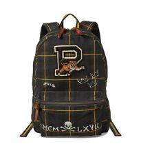 Polo Ralph Lauren - Canvas Blackwatch P Tiger Backpack Bag - Tartan Navy Green