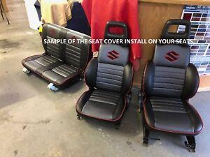 1986-1995 Suzuki Samurai Seat Covers KIT(Front and Rear)