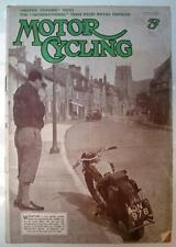 October Motor Cycling Magazines in English