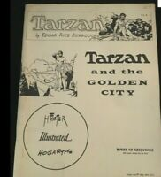 TARZAN and the CITY OF GOLD - Hogarth EDGAR RICE BURROUGHS - House of Greystoke