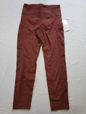 Athleta Women's Trekkie Hybrid Crop Tight Pants AB3 Cognac Brown Size 2P NWT