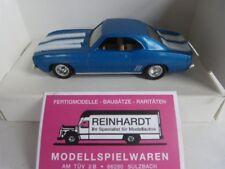 1/43 ERTL Camaro 1969 blau 2809