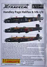 Xtradecal 1/72 X72146 Handley Page Halifax B II decal set