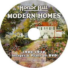 Sears Honor Bilt Modern Homes (1908-1940) Catalogs & Plans on DVD