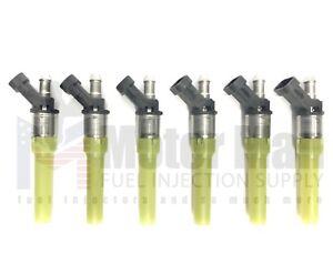 4.3L Vortec Spider New Fuel Injectors 217-1516 217-3028 FJ10565 12568332A