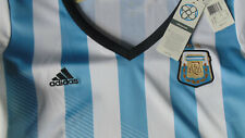 Adidas Team Argentina Soccer Authentic Jersey Womens Size XLarge New With Tags