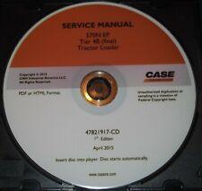 CUSTODIA 570N EP TIER 4B TRACTOR LOADER SERVICE SHOP REPAIR BOOK MANUAL CD