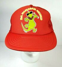 Da Hawaiian Gecko Vtg Snapback Hat Cap 1986 Eds West Aloha