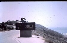 35mm slide - Vintage - Photo - Collectibles - national monument cabrillo sign