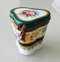 Limoges France Fairy Floral Box