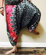 Indian Harem Gypsy Hippie Ali Baba BaggPants Women Trousers Boho Yoga Casual 15