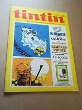 "MAGAZINE ""TINTIN, no 1220"" (1972) DOSSIER ""LES BD D HIER""..."