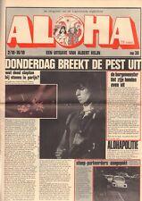 MAGAZINE ALOHA 1970 nr. 38 - ROLLING STONES/VAN KOOTEN & DE BIE/PETE TOWNSHEND