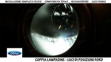 """COPPIA 2 LAMPADINE LED BIANCO GHIACCIO POSIZIONI """"FORD FOCUS 1"""" (1998 AL 2004)"""