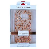 Samsung Galaxy S7 Case Karat Dual Layer Protection by Case-Mate Rose Gold