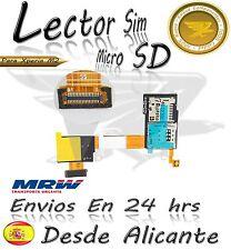 Lector SIM / micro SD flex para Sony Xperia M2 D2303 reader tarjeta