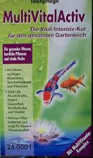 1,1 Liter Dennerle Teich Spurenelemente Auffrischung der Teichbakterien  26.000L
