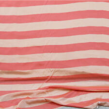 Light yellow and orange stripe print silk cotton fabric smoothly soft,SCT419