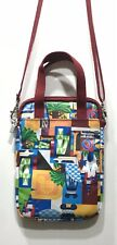 Walt Disney World Parks Cross Body Purse By D Tech Padded For Tablets Cell Phone