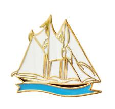 Schooner Sailing Boat Pin Badge